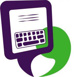 icoon tekstschrijver met hart voor onderwijs